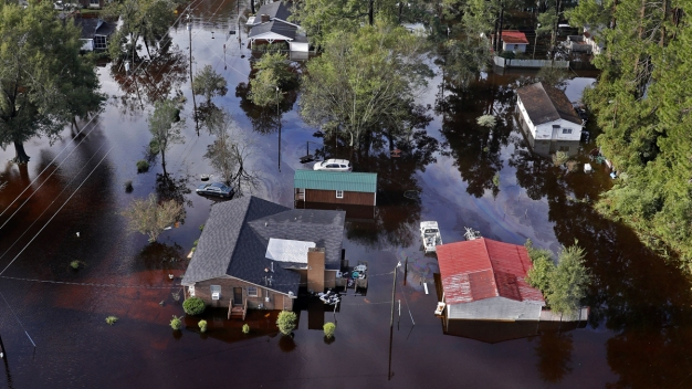Emergency Crews Throw Supply Lifeline to Isolated Wilmington