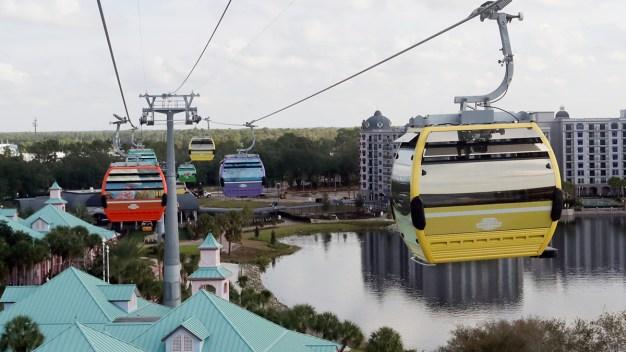 Air Gondolas Join Disney World's Transit System