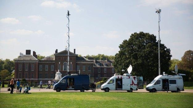 Man Found 'Ablaze' Outside Kensington Palace