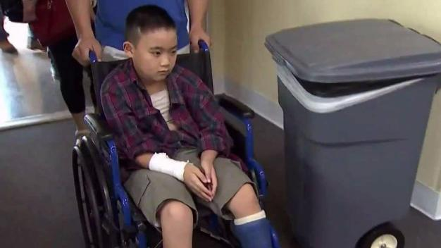 Davie Boy Dragged by SVU Gets Bike From Cops, Businessman