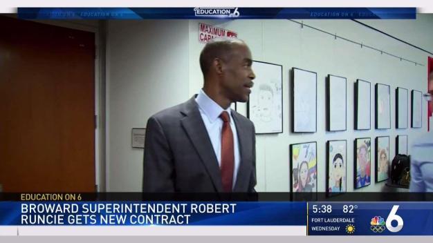 Broward Schools Superintendent Gets New Contract