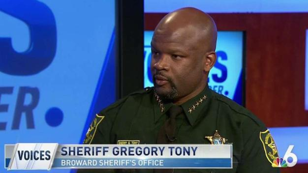 Broward Sheriff Tony on Controversies, Assisting the Community
