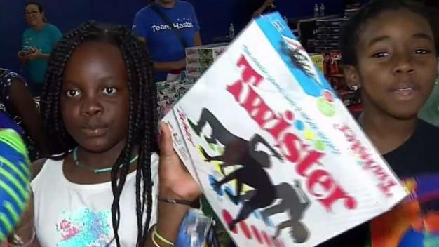 Christmas in July: Initiative Teaches Kids Teamwork
