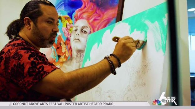 Coconut Grove Arts Festival Poster Artist Hector Prado