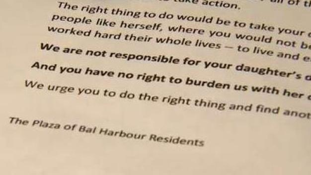 Condo Responds After Discriminatory Letter Found