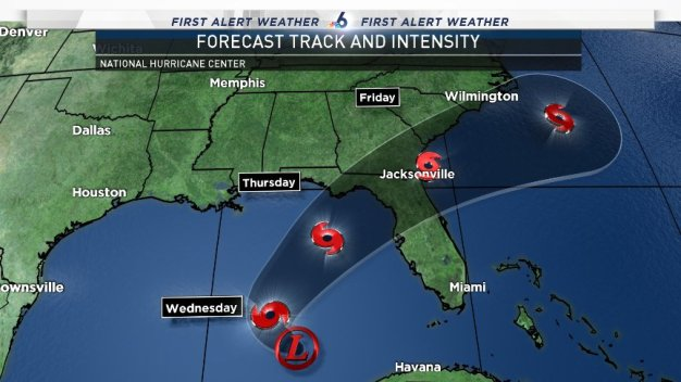 Wet Weather Expected Across Florida This Week From System