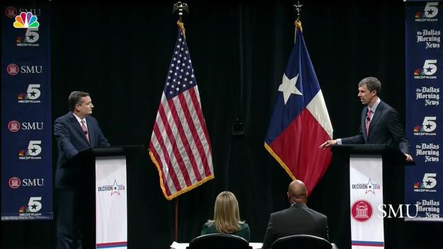 Beto O'Rourke and Ted Cruz Square Off in First Debate