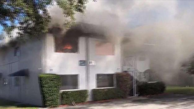 Dania Beach Office Building Stands Gutted After Fire