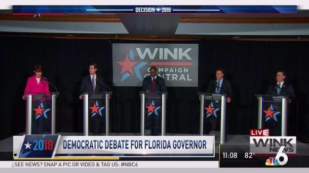 Democratic Governor Candidates Debate