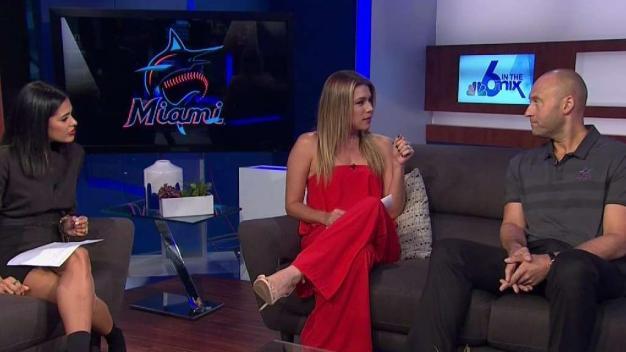 Derek Jeter Talks Marlins New Colors and Logo