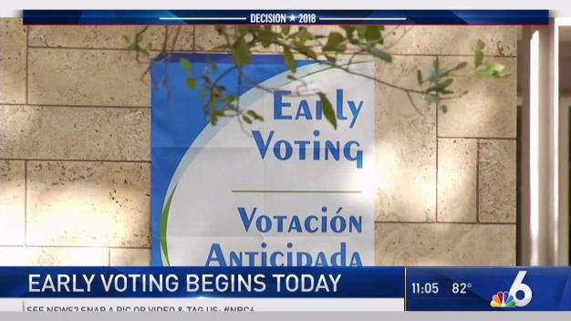 Early Voting Kicks Off in South Florida