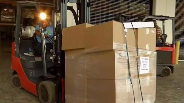 Emergency Supplies Leaving South Florida For Caribbean