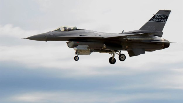 F-16s Sent to Enforce No-Fly Zone in Palm Beach County