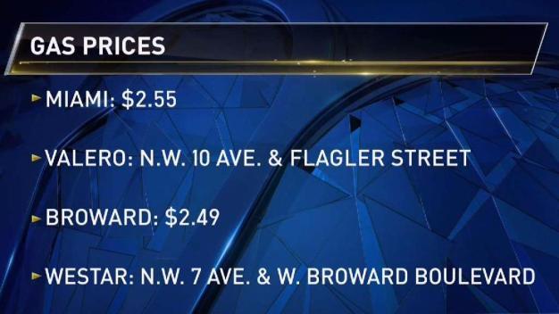Gas Prices Increasing Across South Florida