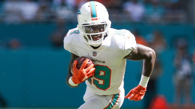 Dolphins Receiver Grant to Go on IR With Lower Leg Injury