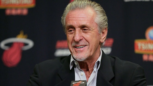 Heat President Pat Riley Addresses Offseason Moves