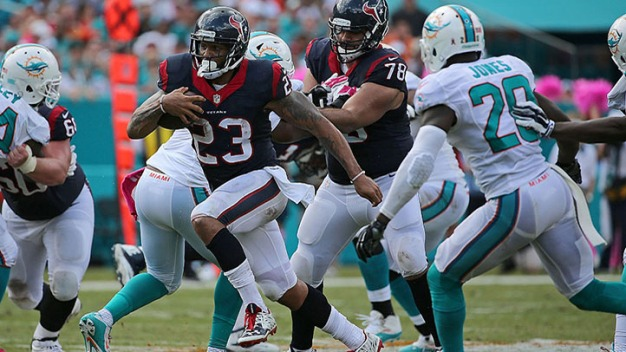 Dolphins to Meet With Arian Foster: Report