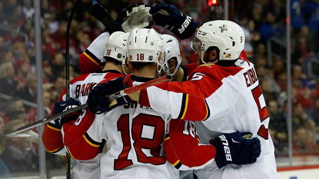 Panthers Tally Seven Goals in Win Over Sabres