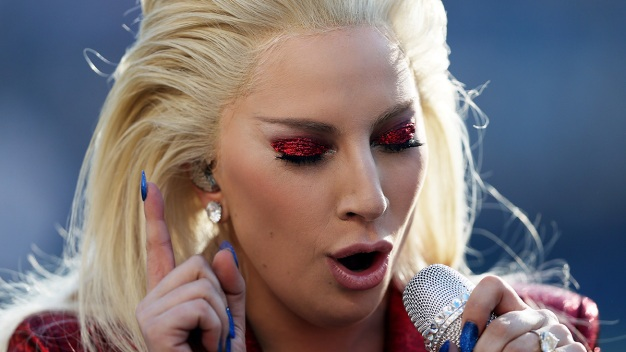Lady Gaga Delivers Stirring National Anthem to Open Super Bowl