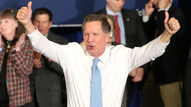 Moderate Views Helped Kasich Nab Second