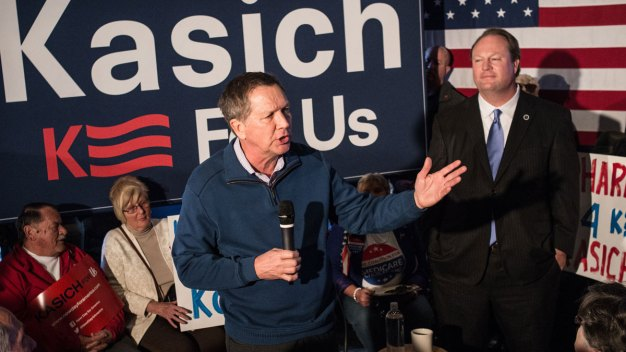Kasich Works to Assure SC of Conservative Record