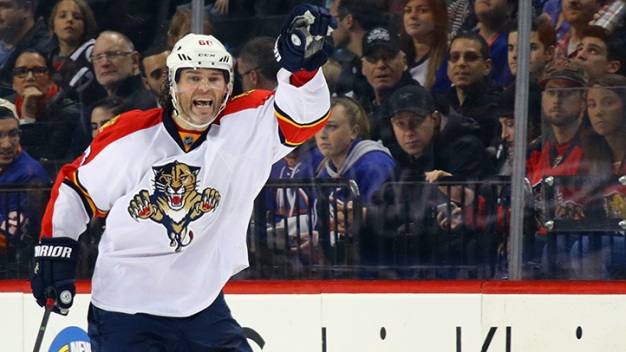 Panthers Re-Sign Jaromir Jagr for 2016-17 Season