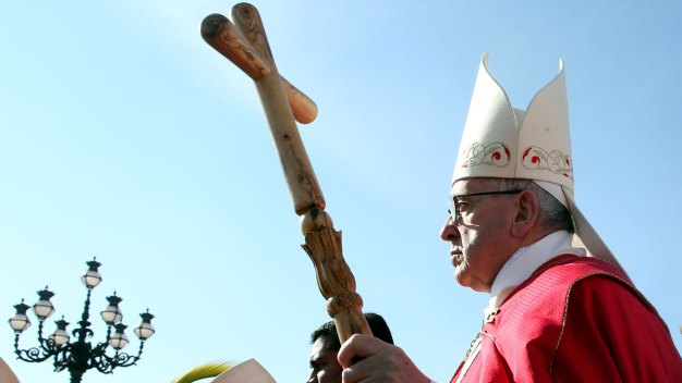 Pope: The World's at War, but Not a War of Religions