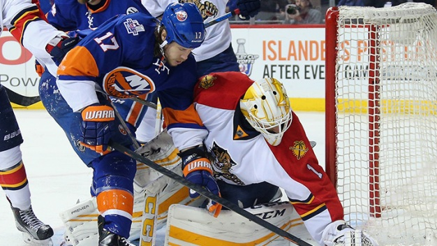 Panthers Even Up Series in New York