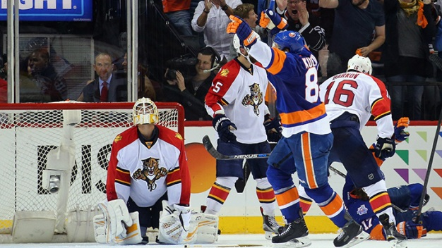Panthers Eliminated in Double Overtime