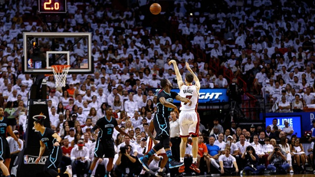 Heat Advance to Second Round With Easy Win in Game Seven