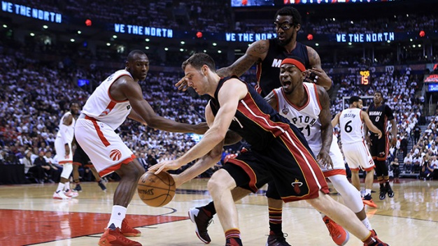 Heat Open Conference Semifinals w/ Win in Toronto