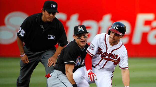 Lowly Braves Beat Marlins Again