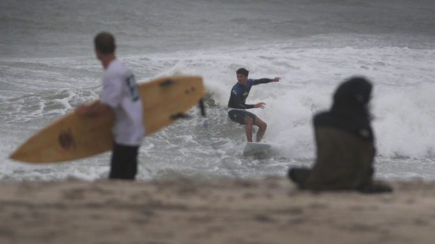 Tropical Storm Colin Brings Big Waves to Florida