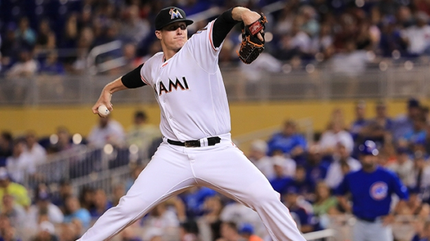Marlins Held to Two Hits in Loss to Cubs