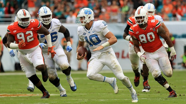 Hurricanes Fall to Unranked Tar Heels