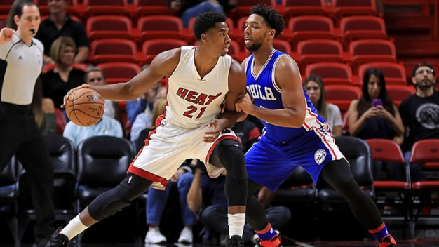 Heat Finish Preseason With Loss