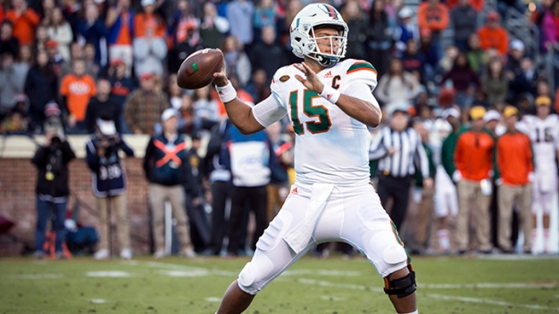 Hurricanes Headed to Russell Athletic Bowl