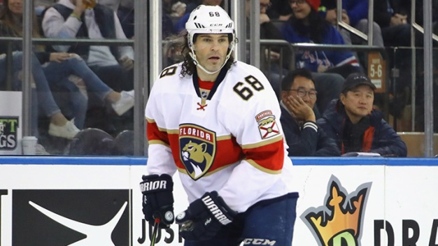 Panthers Fall to Blackhawks in Rowe's Debut