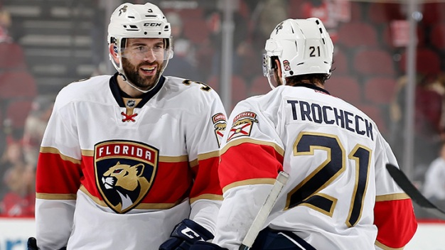 Trocheck's Late Goal Lifts Panthers to Fifth Straight Win