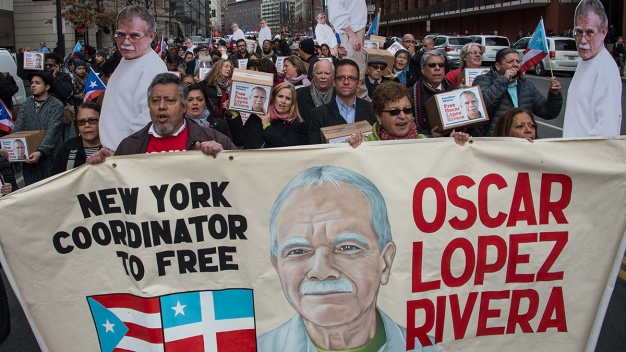Puerto Ricans Cheer Commutation for Nationalist Lopez