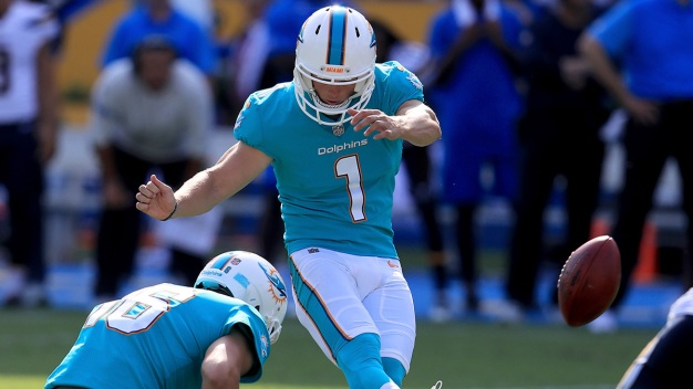 Dolphins' Parkey Named AFC Special Teams Player of the Week
