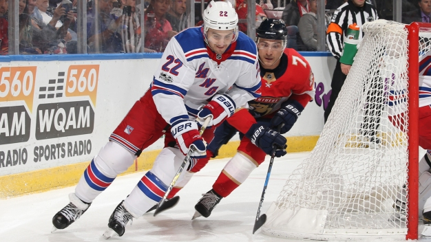 Shattenkirk Lifts Rangers Over Panthers 5-4