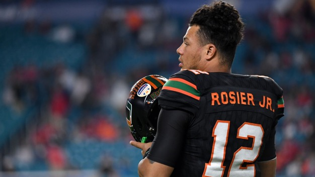 With a Chip On His Shoulder, Rosier Set to Lead No. 8 Miami