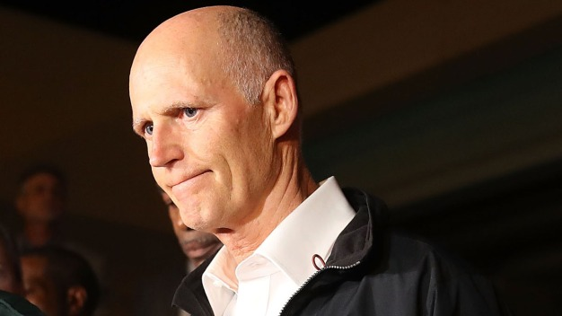 Florida Gov. Scott Won't Resign Early to Join US Senate