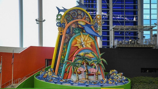 Marlins Given Permission to Move Home Run Sculpture