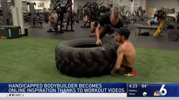 Handicapped Bodybuilder Becomes Online Inspiration
