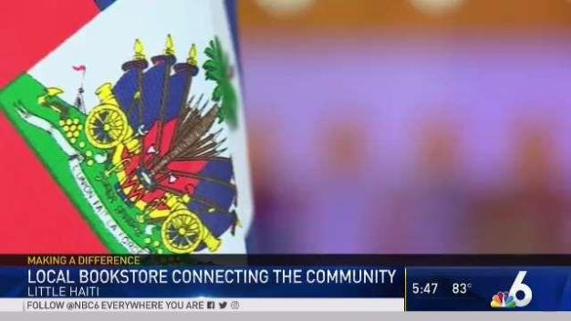 Historic Haitian Bookstore Connects Community
