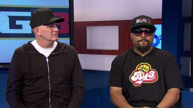 Ice Cube, Michael Rapaport Talk Big3 Basketball