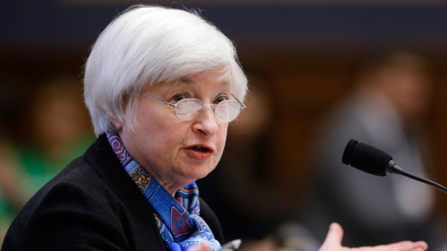 Fed Chair Janet Yellen 'Hopeful' About Economic Growth