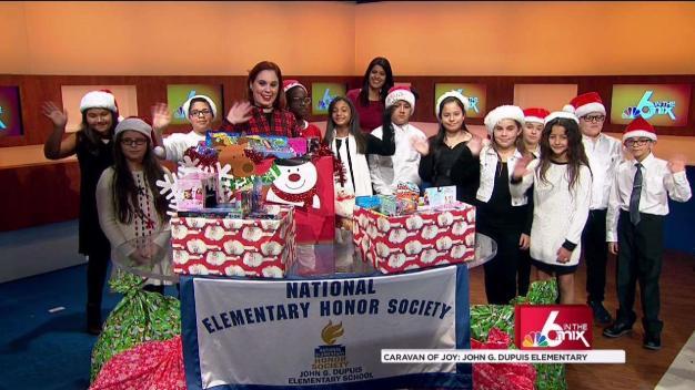"Local School Donates to ""Caravan of Joy"" Toy Drive"
